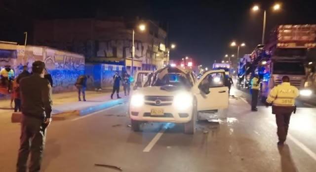 Confusión por explosión de camioneta en la autopista Sur de Soacha, alcalde y Gobernador  se pronuncian