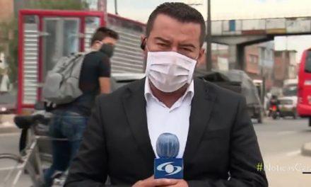 Roban a equipo de Noticias Caracol mientras reportaba atentado  en Soacha