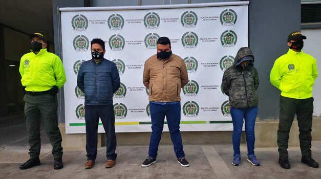Caen Los Yoguis, responsables del hurto a un camión de valores en Tena, Cundinamarca