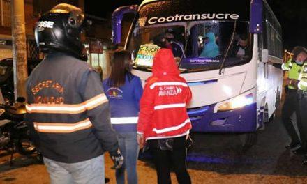 Autoridades de Soacha responden a denuncias sobre desorden en transporte público en medio de la pandemia