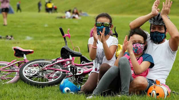 Parques metropolitanos de Bogotá vuelven a abrir sus puertas