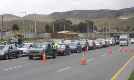 En Cundinamarca han devuelto 515 vehículos por no acatar el Plan Candado
