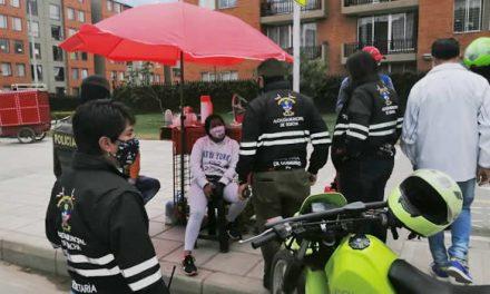 Operativos contra ocupación del espacio público en Soacha