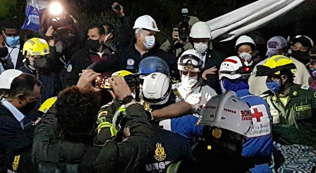 Rescatan mineros atrapados en Lenguazaque, Cundinamarca