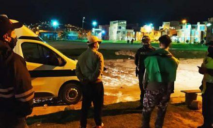 Los sorprendieron incumpliendo Toque de Queda en Soacha y ahora deberán pagar casi 1 millón de pesos