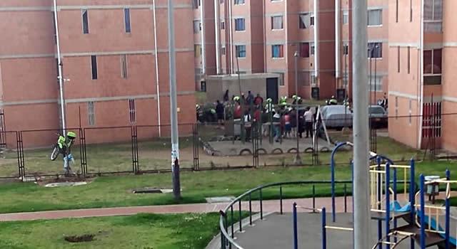 Disparos y enfrentamientos con arma de fuego dentro de un conjunto residencial de Soacha