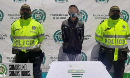 Dos capturas por tráfico de estupefacientes y una por homicidio en Soacha