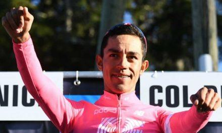 ¡Campeón¡ Soachuno Daniel Felipe Martínez gana el critérium del Dauphiné