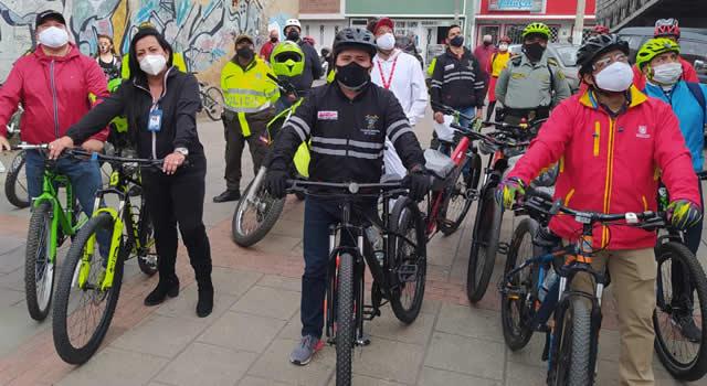 Estrategia conjunta entre Soacha y Bogotá para evitar robo de bicicletas