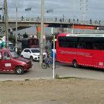 Sube  congestión en la Autopista Sur en el día de movilizaciones