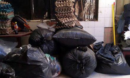 Escombros y vísceras de animales son arrojados por vecinos a los shut de basura de conjunto residencial de Soacha