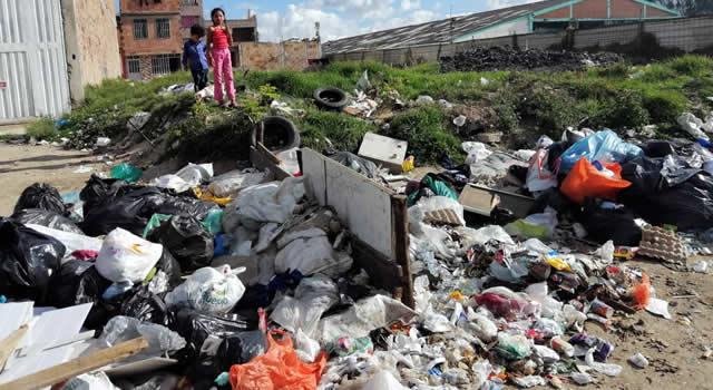 Plagas y  basuras invaden un sector de Soacha