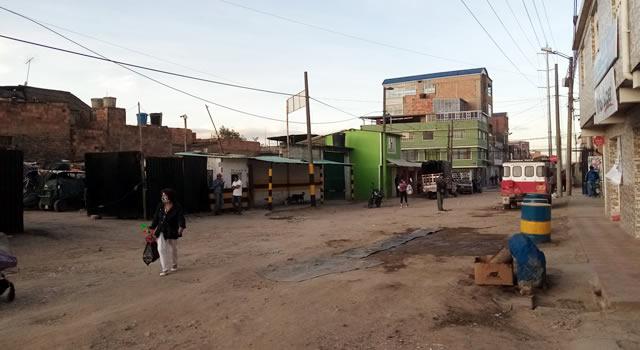 Entre el caos y la falta de infraestructura conviven los habitantes del barrio San Bernardino de Soacha