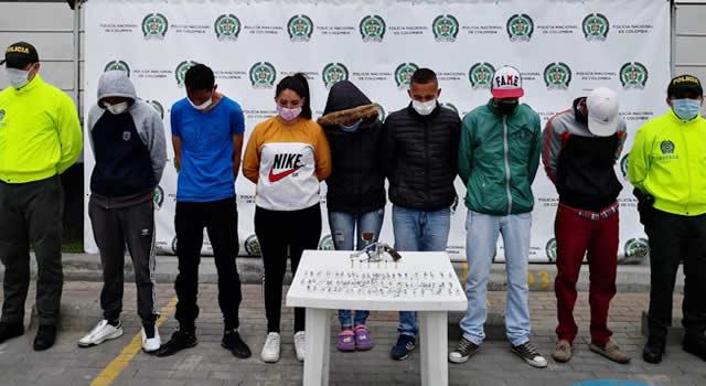 Judicializan 6 integrantes del Combo de CP, dedicados a traficar droga en las vías de Soacha