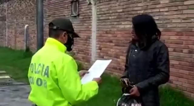 Capturan 8 integrantes de banda delictiva en Soacha: 'Los del Parque'