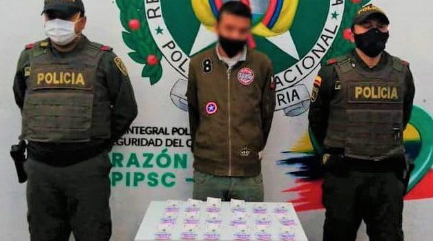 En Cundinamarca capturan estafador con 900 mil pesos en billetes falsos