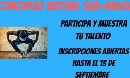 """""""Concurso Virtual Sua-Danza"""" se adapta a la virtualidad en tiempos de pandemia"""
