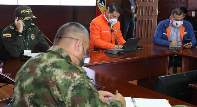 Resultados del Consejo de Seguridad en Cundinamarca