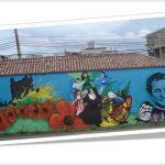 ¿Cómo es visto el arte del grafiti en el municipio de Soacha?