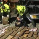 Incautan 300 libras de marihuana en la vía Bogotá-Girardot, tres capturados