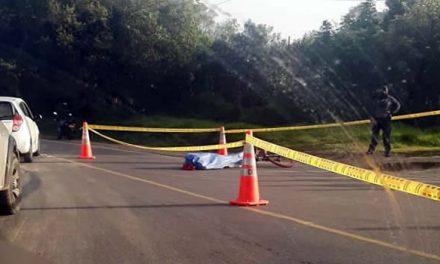 Muere ciclista en la vía Soacha-Sibaté