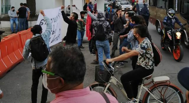 Las víctimas fatales durante la noche de caos en Bogotá