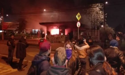 Protestas contra la Policía afectaron a Soacha, varios articulados incendiados en AutoSur