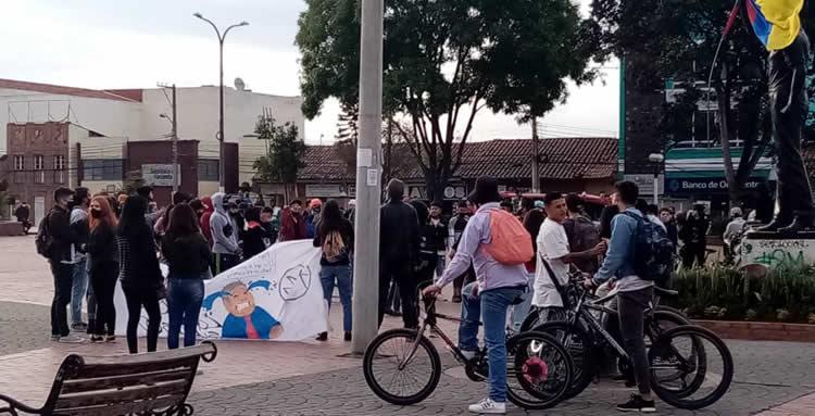 Protestas del paro nacional se concentrarán en el centro de Bogotá