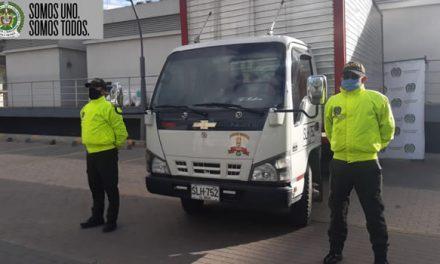 Policía recupera una moto y dos vehículos que habían sido  hurtados en Soacha