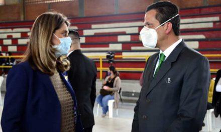 Así fue el jalón de orejas del alcalde de Soacha a la vicepresidenta Martha Lucía Ramírez