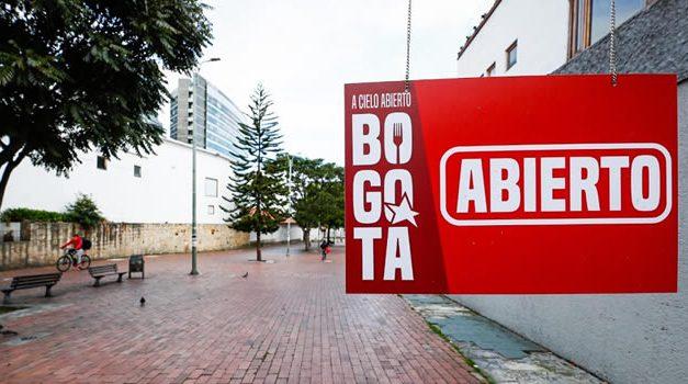 «Bogotá A Cielo Abierto», iniciativa para el sector gastronómico de la capital