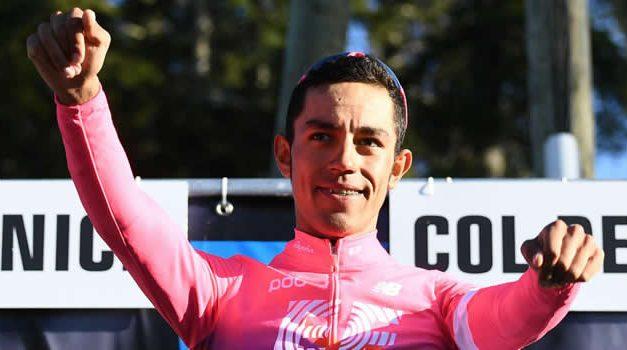 Ciclista soachuno Daniel Martínez fue elegido deportista del año El Tiempo