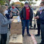 Bavaria y Fundación Santo Domingo donaron elementos de protección y pruebas covid a Soacha