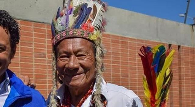 Fallece el 'Taita' José, gobernador indígena de Soacha