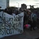 Movilización ciudadana llega al parque principal de Soacha, Transmilenio sin operación en el municipio