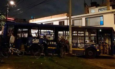 En Suba  murió mujer atropellada por bus de SITP secuestrado por vándalos