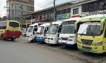 Empresas transportadoras de Sibaté posponen alza tarifaria