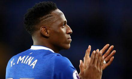 Yerry Mina ganaría más que James en el Everton de Inglaterra