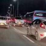 Soacha vivió un domingo de trancón en la autopista Sur con poca policía de tránsito