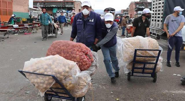 Corabastos negó entrada a Banco de Alimentos que recoge ayudas para personas pobres de Soacha