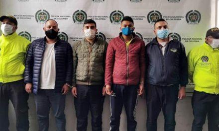 Desmantelan cinco bandas dedicadas a robar en las calles y hurtar viviendas en Bogotá