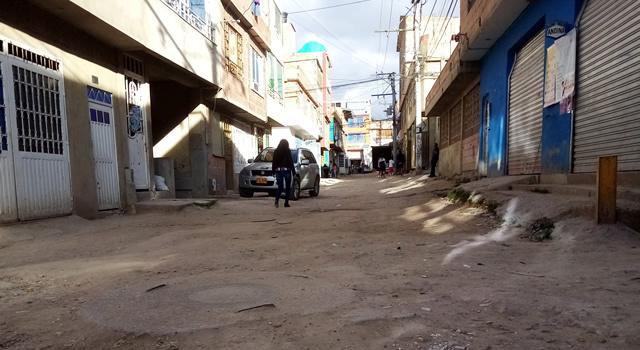 Al borde de una calamidad pública se encuentran residentes del barrio San Miguel de Soacha
