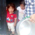 Sed en tres barrios de Soacha, niños piden agua para sobrevivir