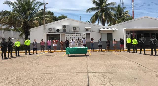Capturan 14 personas que fabricaban y vendían droga en Cundinamarca