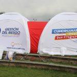 Llegan carpas medicalizadas a Soacha, la ciudad se prepara para segundo pico de la pandemia