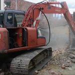 Se derribó casa que abrirá paso a importante vía en la comuna dos de Soacha