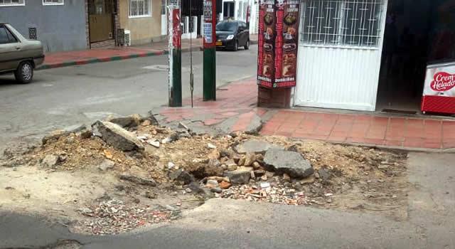 """Más quejas sobre las """"chambonadas"""" de la Empresa de Acueducto en Soacha"""
