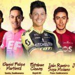 Cinco  pedalistas de la Región Central representarán a Colombia en la Vuelta a España