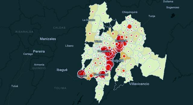 Peligro ascenso de contagios en Cundinamarca