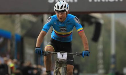 Boyacense Leonardo Páez repitió título en el Mundial de Marathon de MTB